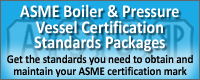 ASME BPVC Certification