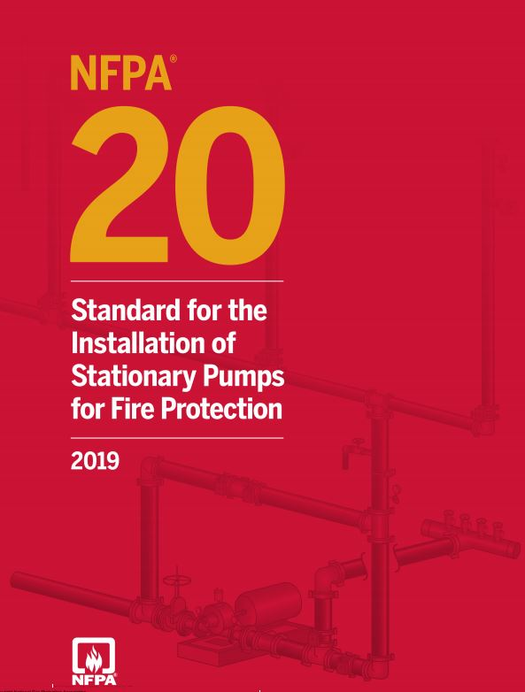 NFPA 20 : STANDARD FOR THE INSTALLATION OF STATIONARY PUMPS FOR FIRE