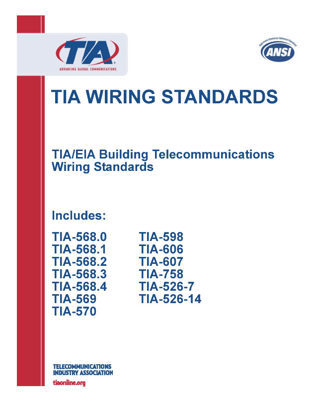 tia wiring standards : tia/eia building telecommunications ... tia 568a wiring diagram cat5 ethernet cable tia 568 wiring standards #5