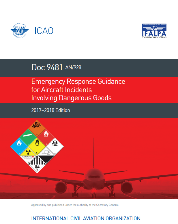 icao 9481 emergency response guidance for aircraft incidents rh global ihs com ford fusion hybrid emergency response guide Crisis Response Guide