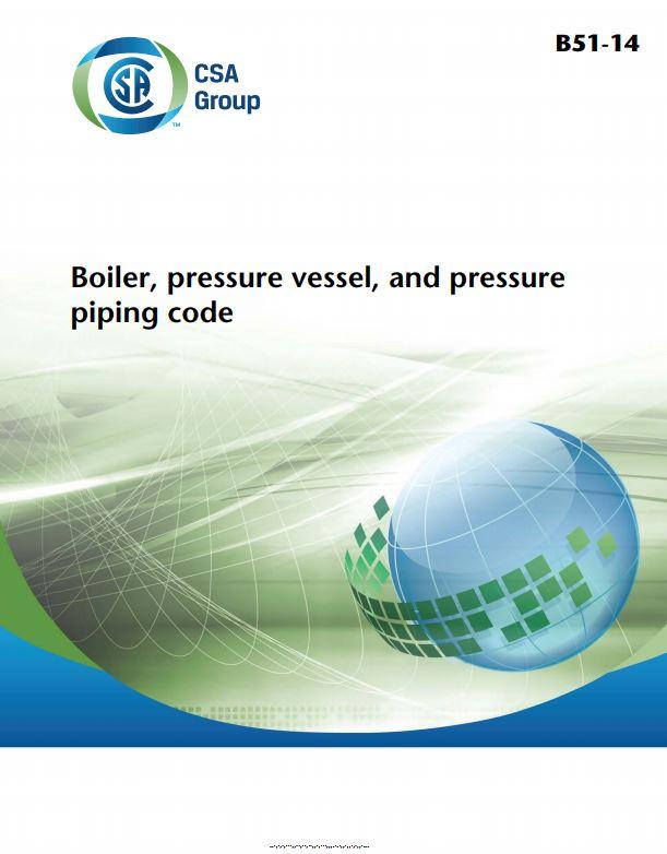 Csa b51 boiler pressure vessel and pressure piping code close fandeluxe Gallery