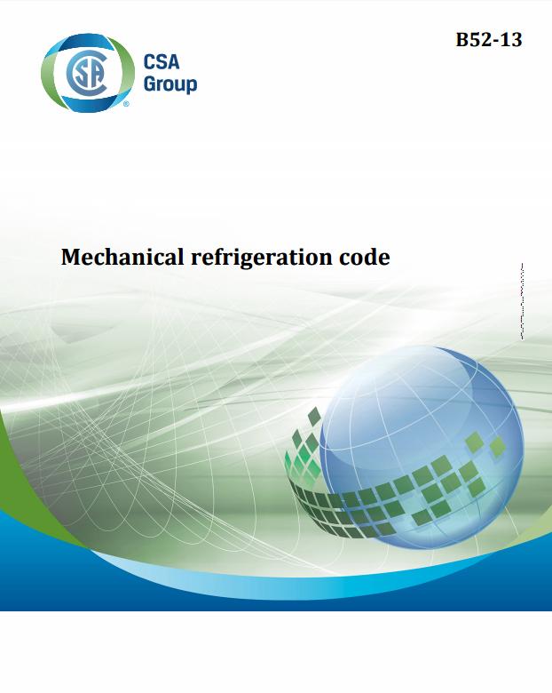 Csa b52 mechanical refrigeration code close fandeluxe Gallery