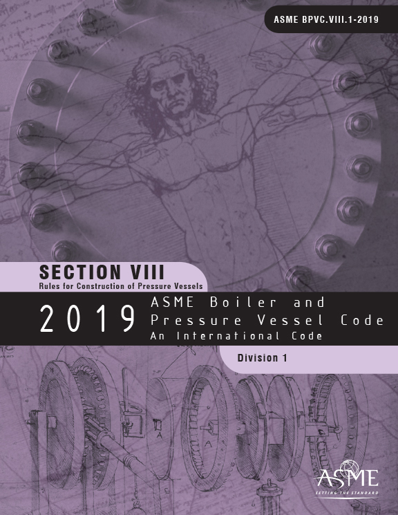 ASME BPVC-VIII-1 : SECTION VIII DIVISION 1 RULES FOR ...