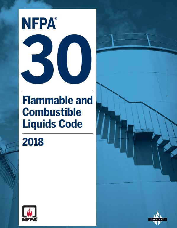 NFPA 30 : FLAMMABLE AND COMBUSTIBLE LIQUIDS CODE