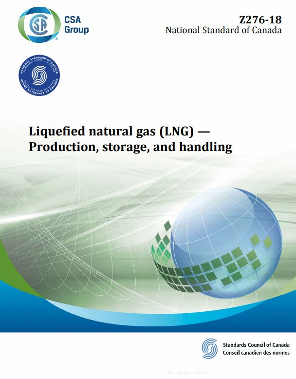 CSA Z276 : Liquefied natural gas (LNG) - Production, storage, and