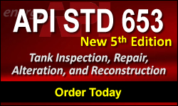API STD 653, 5th Edition