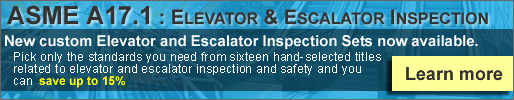 ASME A17.1 Elevators & Escalators