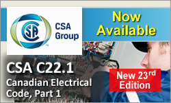 CSA C22.1, 23rd Ed. - Canadian Electrical Code
