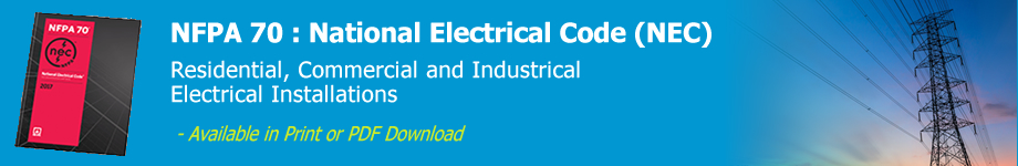 Brilliant Nfpa 70 National Electrical Code Nec Wiring Database Wedabyuccorg